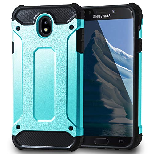 United Case Funda Rígida para Samsung Galaxy J7 (2017) J730 DUOS  TPU   2 Piezas  