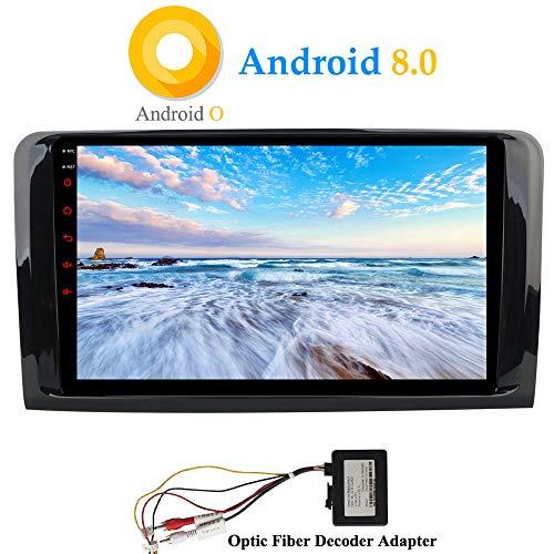XISEDO Android 8.0 Autoradio In-dash Car Radio 9 Pollici Car Stereo 8-Core RAM 4G ROM 32G Navigatore GPS per Mercedes-Benz ML-W164/ W300/ ML350/ ML450/ ML500/ GL-X164/ GL320/ GL350/ GL450/GL500