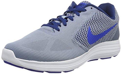 Nike Men's Revolution 3 Running Shoes, Off White White MTLC Hematite Wolf Grey Black, 6 UK