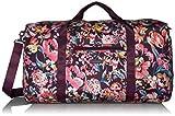 Vera Bradley Women's Lighten Up Large Travel Duffle Bag, Indiana Blossoms