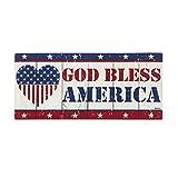 God Bless America Sassafras Switch Mat - 22 x 1 x 10 Inches
