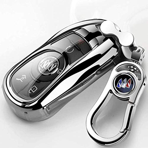 Car Key Case for Buick Luxury 2 3 4 5 Buttons TPU Smart keyless Entry Remote Key Fob case Cover for Buick Verano Regal Lacrosse Envision Encore Enclave GL8 2015 2016 2017 2018