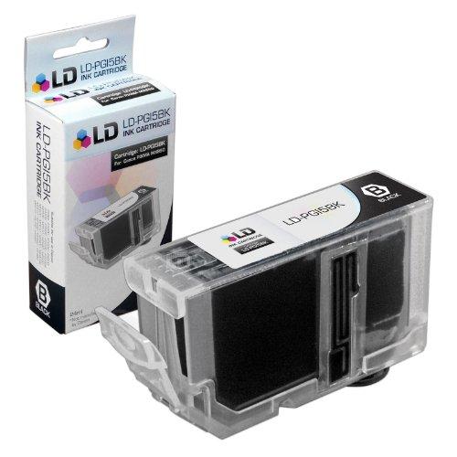 LD Compatible Ink Cartridge Replacement for Canon PGI5Bk 0628B002 (Pigment Black)