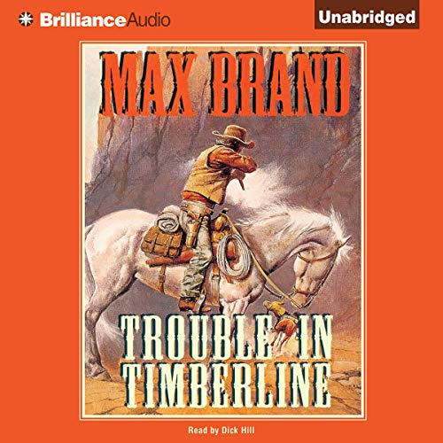 Trouble in Timberline audiobook cover art