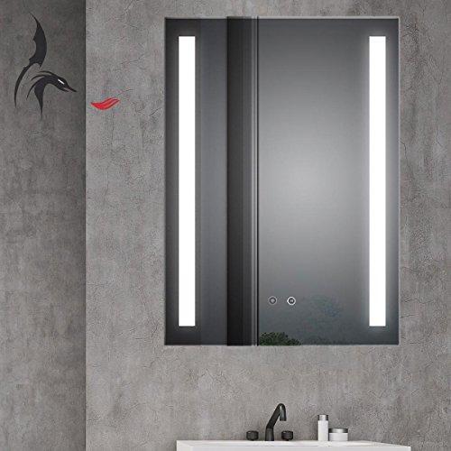 HOKO TOP Aktion  LED Badezimmerspiegel mit ANTIBESCHLAG SPIEGELHEIZUNG Borkum 60x80cm LED Bild 2*