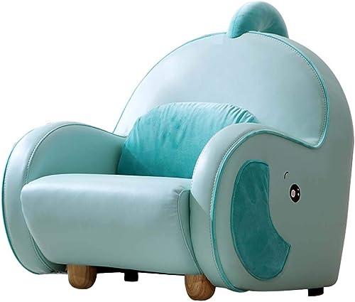 Canapé pour Enfants, Dessin Animé Animal Fauteuil Simili Cuir Confortable Meubles pour Enfants Canapé SièGe Paresseux Mini Mignon Simple Petit Canapé
