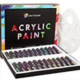 Acrylic Paint Set By Color Technik, Professional Artist Quality,...