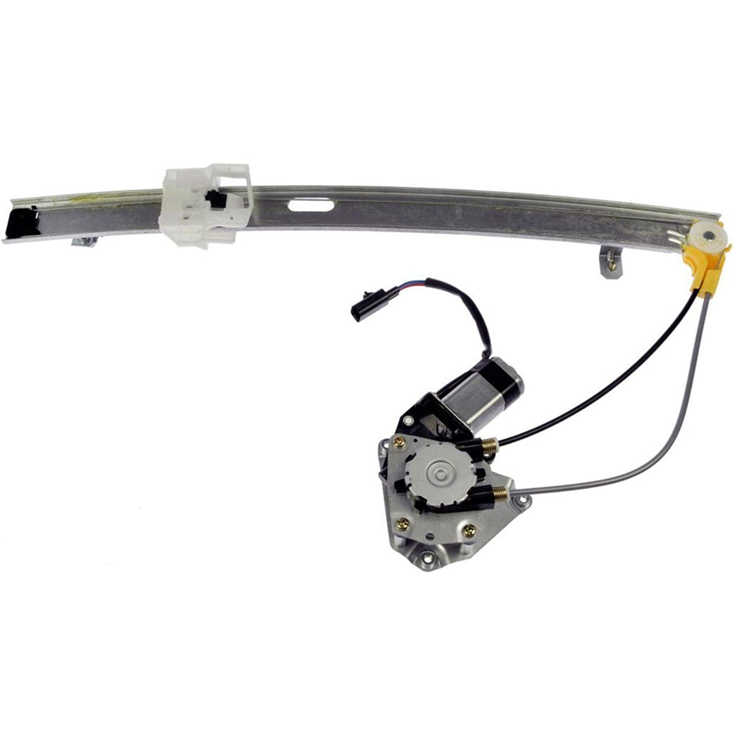 MILLION PARTS Rear Right Side Power Window Regulator with Motor for 2006 2007 Jeep Liberty Sport Utility 4-Door