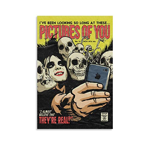 Butcher Billy Presents New Cure Poster Series Tales from Canvas Art Poster and Wall Art Picture Print Modern Family Bedroom Decor Posters 12x18inch(30x45cm)