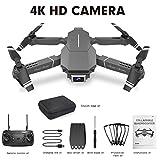 Drone avec caméra WiFi FPV HD,Drone Pliable RC à Quatre Axes,Drone avec caméra vidéo en Direct, Drone WiFi GPS 1080P 720P 4K,Drones Professionnels et caméras avec vidéo en Direct Grand Angle réglable