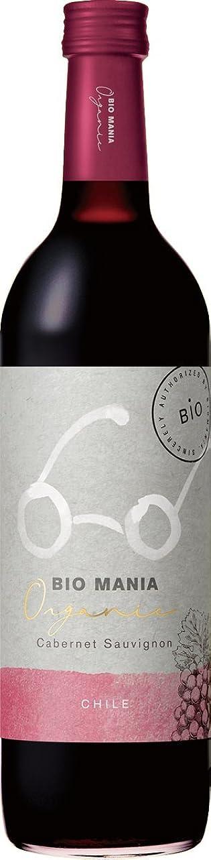 かどうか乱暴な寸前【有機ワイン】ビオ マニア<オーガニック> チリ カベルネ?ソーヴィニヨン 750ml