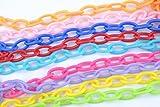 minihut 9X Bird Chain Toys Parrot Multicolor...