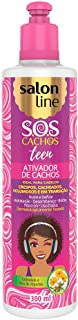 Linha Tratamento (SOS Cachos) Salon Line - Ativador De Cachos Teen 300 Ml - (Salon Line Treatment (SOS Curls) Collection - Teen Curl Activator 10.14 Fl Oz)
