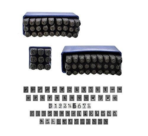 Proops 5mm Metalwork Buchstaben und Stempel Set (j2158), Großbuchstaben, Schriftart Penguin Z klein und und mit. Adidas