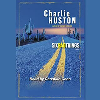 Six Bad Things audiobook cover art