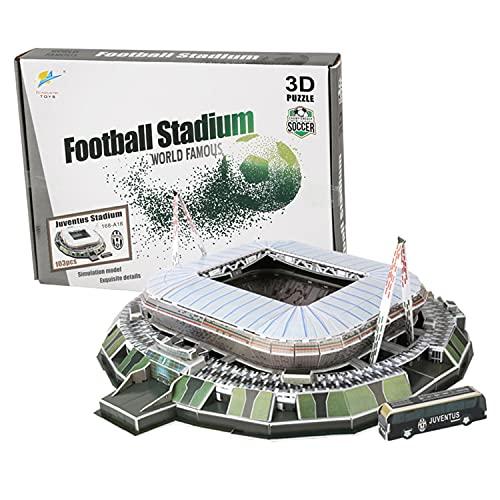 Georgie Porgy Puzzle Dello Stadio di Calcio 3D Giocattoli da Costruzione Set di Sostruzione (Delle Alpi Stadium 103pcs)