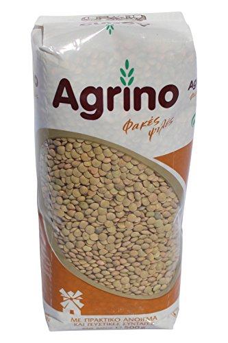 Agrino feine Linsen 500g getrocknet aus Griechenland mediterrane Küche griechische Hülsenfrüchte kleine Linse fein