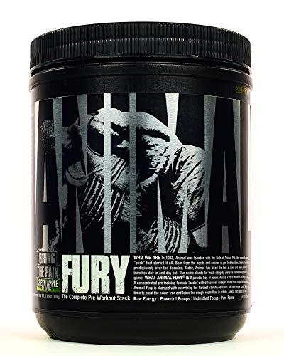 Animal Fury 20 servings Manzana verde
