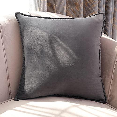 Almohada Ergonómica para Dormir en Diferentes Posturas (Lado, Espalda o Estómago) -Gris_50 * 50cm
