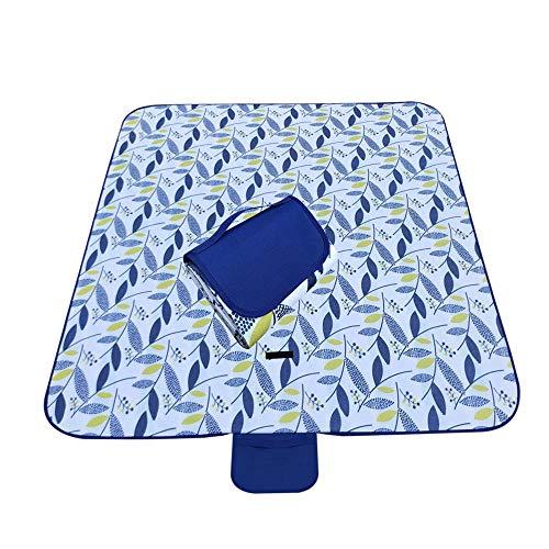 195 * 200 cm Nähte Oxford-Tuch Picknickmatte im Freien wasserdicht und feuchtigkeitsdichte Picknickmatte-5