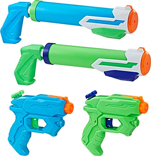SUPERSOAKER Super Soaker Floodtastic 4 Pack