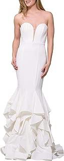 Jovani 31625A Prom Strapless Evening Dress