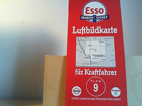 Luftbildkarte für Kraftfahrer. Deutsche Landschaft. Plan Nr. 9. (=Hessen)