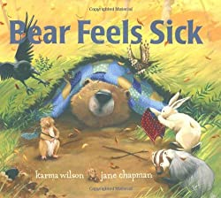 Bear Feels Sick Book for Children