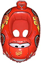 Inflatable Kiddie swimming ring Race Car Pool Toy - Red