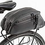 Lixada Alforjas de Bicicleta Bolsas de Ciclismo Impermeables Bolsa de Asiento Mochila de Alta Capacidad
