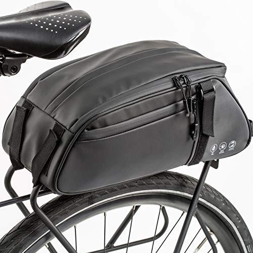 Lixada Fahrradtaschen, wasserdichte Gepäckträgertasche Fahrrad Sitz Tasche Trunk Bag, Rucksack, Handtasche, 38 * 16 * 16 cm