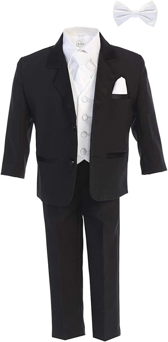 Little Gents Boys Popular Tuxedo Suit - Toddler Wedding NEW before selling C for and