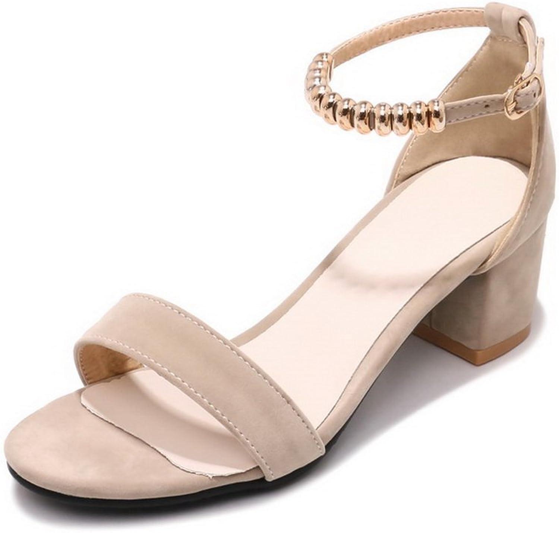 AdeeSu Womens Non-Marking Peep-Toe Cold Lining Urethane Sandals SLC03758