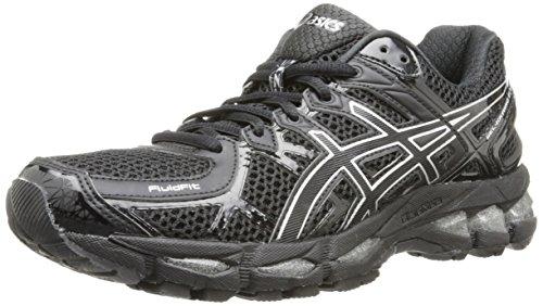 ASICS Women's Gel-Kayano 21 Running Shoe,Onyx/Black/Silver,6...