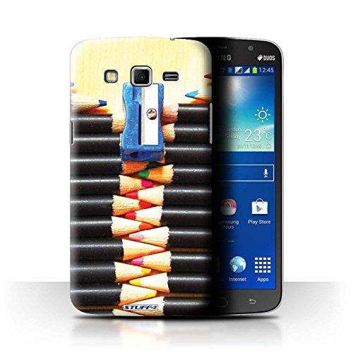Var voor SGMN-CC Abstract Art Samsung Galaxy Mega 5.8 Potloden/Rits