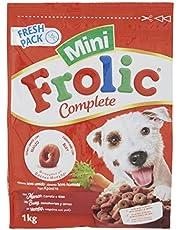 Frolic Complete Cibo per Cane Mini con Manzo/Carote e Riso 1 kg - 6 Sacchi