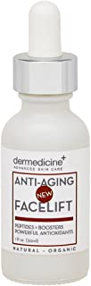 Natural Organic Anti-Aging Facelift Serum for Face | Ultra Hydrating w/Seaweed Extract, Stem Cells, Antioxidants, Peptides...