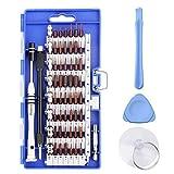 Tournevis de Precision Kit, Preciva 63 en 1 Kit de Tournevis Multi-fonction Magnétiques, Outils de Réparation avec 56 Bits pour Portable, Ordinateur, Lunettes, Appareil