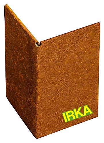 IRKA Ecke Corten Stahl für Rasenkantenband 15 cm