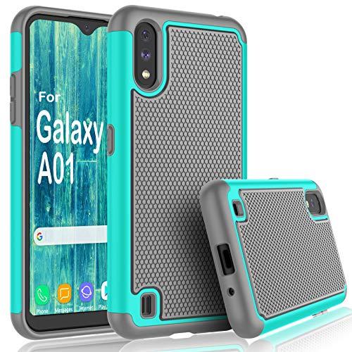 Samsung Galaxy A01 Cute Silicone Case by Tekcoo
