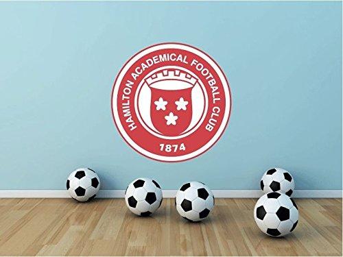 Hamilton Academical FC Scotland Soccer Football Sport Home Decor Art Wall Vinyl Sticker 55 x 55 cm