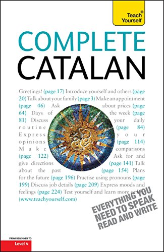 Complete Catalan Beginner to Intermediate Course: Learn to read, write, speak and understand a new language with Teach Yourself (English Edition)