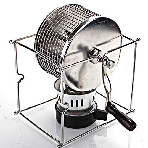 Manueller kaffeeröster, mit Käfig/Backgerät aus Edelstahl 304, Coffee Roaster mit Raddesign für das Home Office
