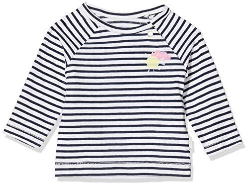 Noppies G Regular T-Shirt Raglan Casa Grande Y/d Str Camiseta, Multicolor (Dress Blue P093), 68 para Bebés