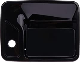 ECCPP Door Handle Exterior Outer Outside Front Driver Side Replacement for 2000-2005 Ford Excursion 1999-2015 Ford F250 F350 Super Duty(Black)