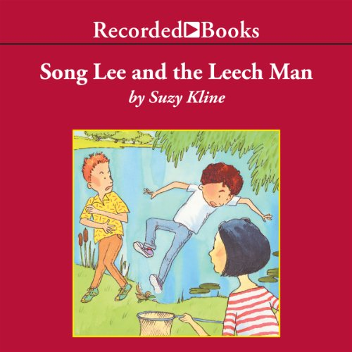 Song Lee and the Leech Man audiobook cover art