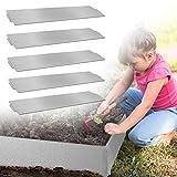 GUANGWEI Lot de 45 bordures de pelouse en métal pour plantes de jardin et légumes - 45 m