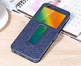 """Flip Cases - Flip Cover for for Lenovo K5 Play L38011 Case Flip Leather Phone Case for for Lenovo K5 Play K320t 5.7"""" Back Cover Funda (Blue)"""