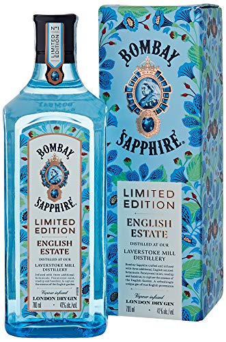 2. Ginebra azul Bombay Sapphire English Estate Limited Edition