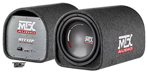 MTX 12 inch subwoofer Reflex, versterkt, 220 W RMS